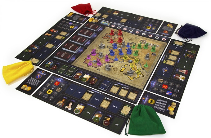 crusader kings board game on kickstarter