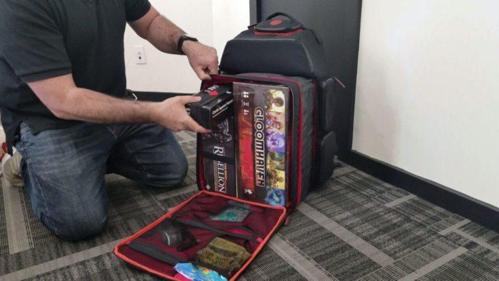 july kickstarter ultimate boardgame backpack