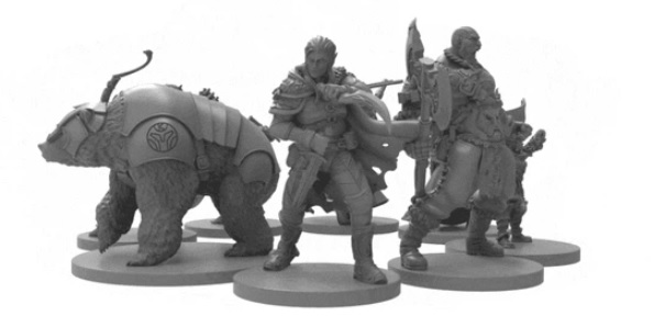 critical role figurki gra planszowa kickstarter lipiec