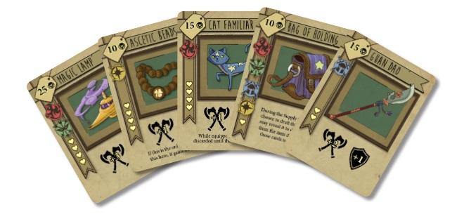 bargain quest gra planszowa kickstarter 5