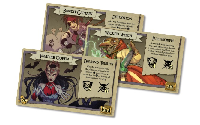 bargain quest gra planszowa kickstarter 3