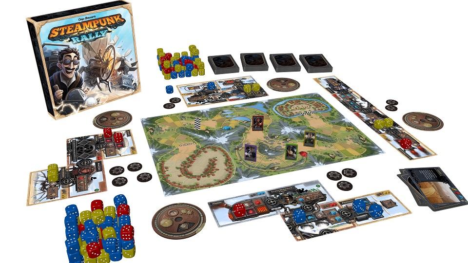 steampunk rally gra z kickstartera