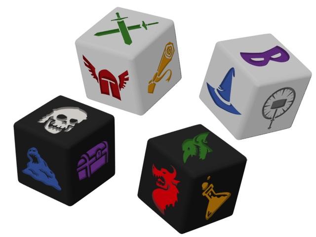 kostki dungeon dice z kickstartera