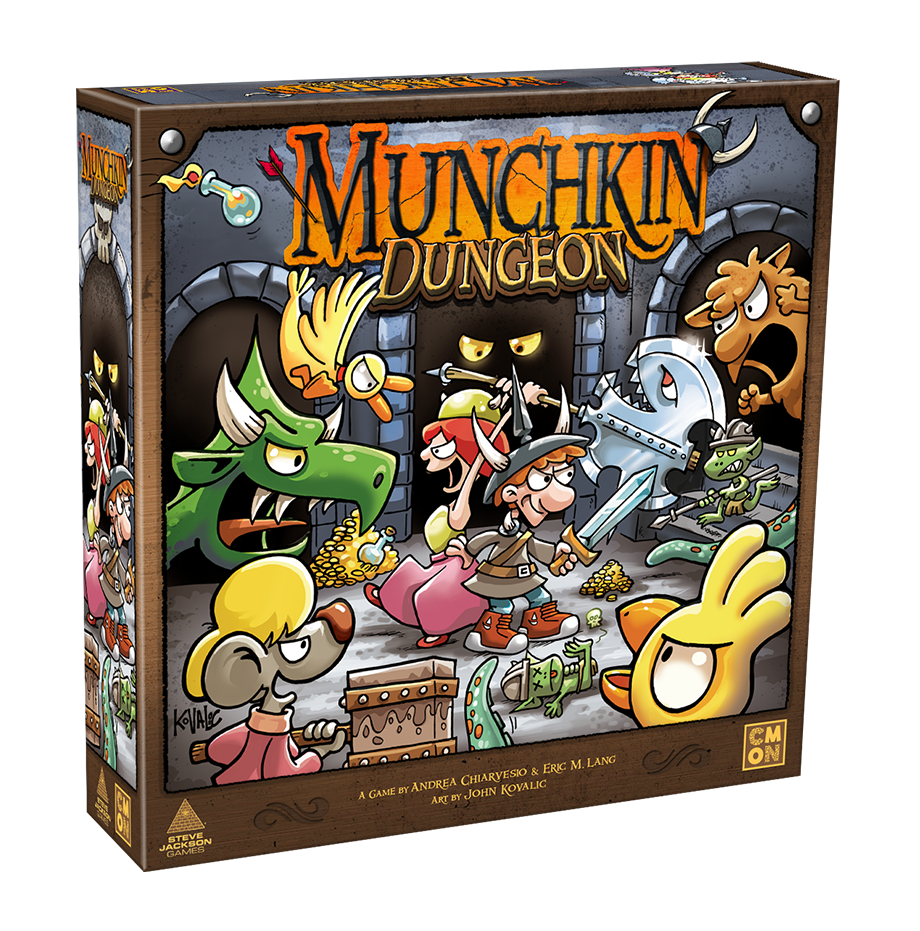 Munchkin Dungeon gra planszowa kickstarter