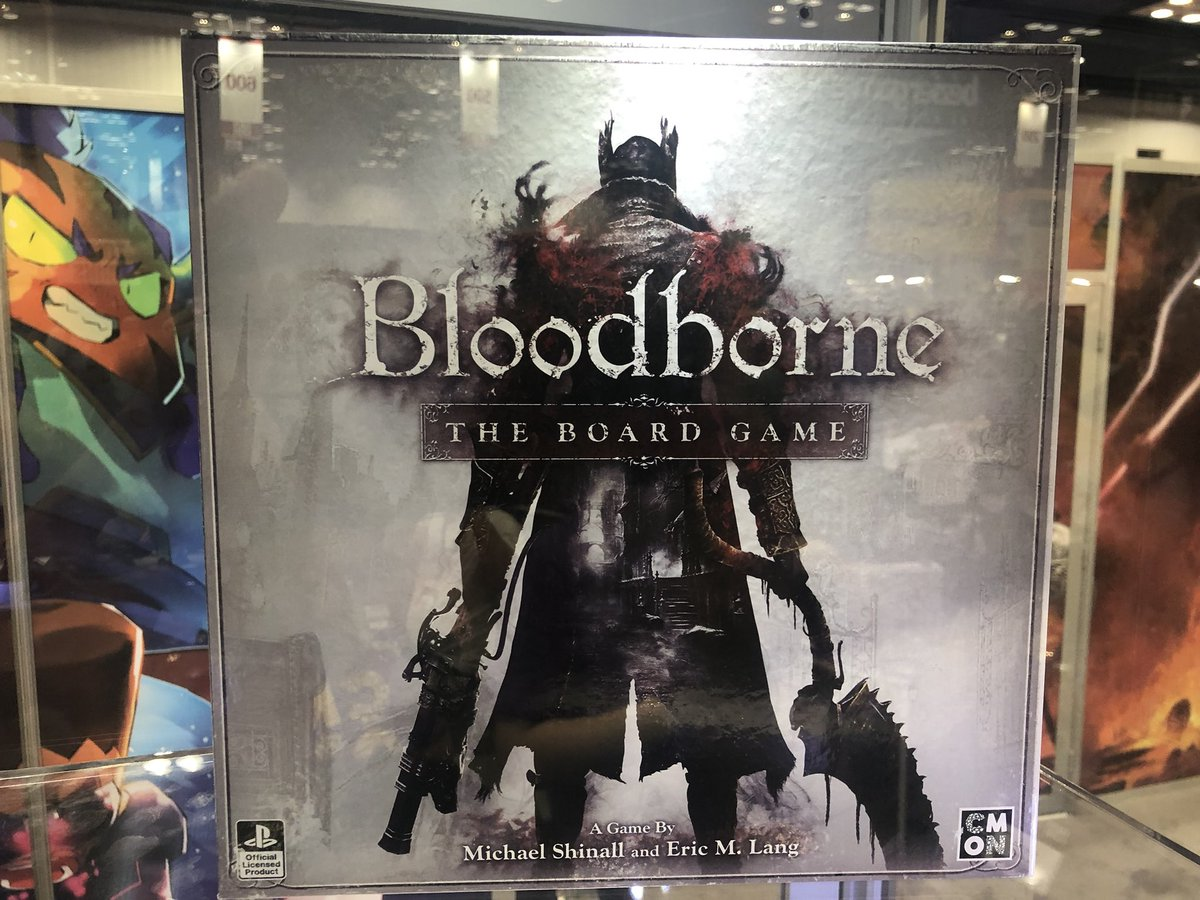 bloodborne gra planszowa