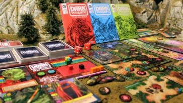 dark venture gra planszowa kickstartera 2
