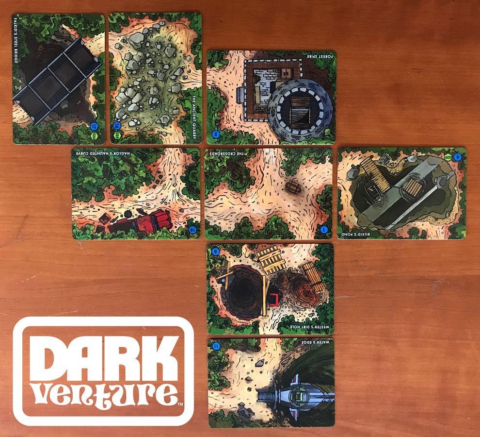 dark venture gra planszowa kickstartera 4