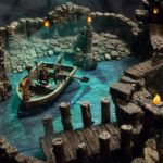 dwarven forge tereny do gier caverns deep
