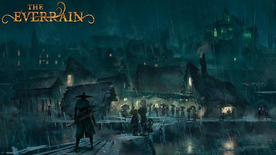 Everrain gra planszowa z kickstartera październik 2