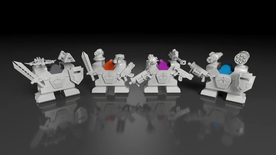 tiny epic mechs gra planszowa z kickstartera 2