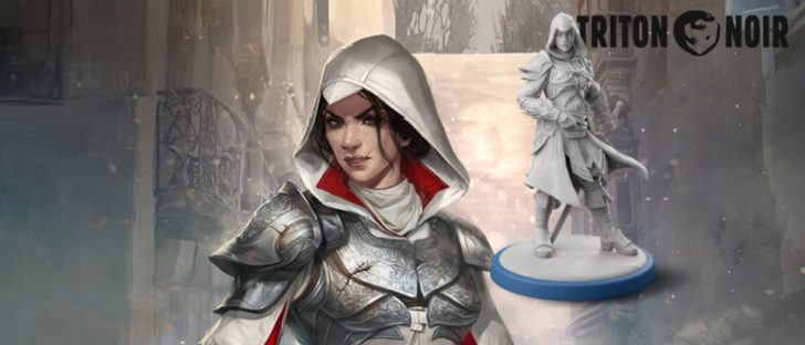 Assassin's Creed - Brotherhood of Venice gra planszowa kickstarter 1