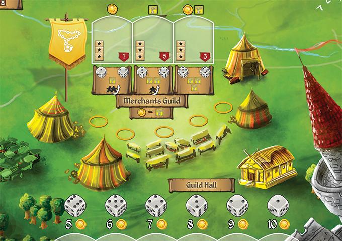 rise to nobility gra planszowa kickstarter 6