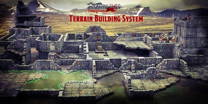 Rampage Dungeon tereny do gier z kickstartera