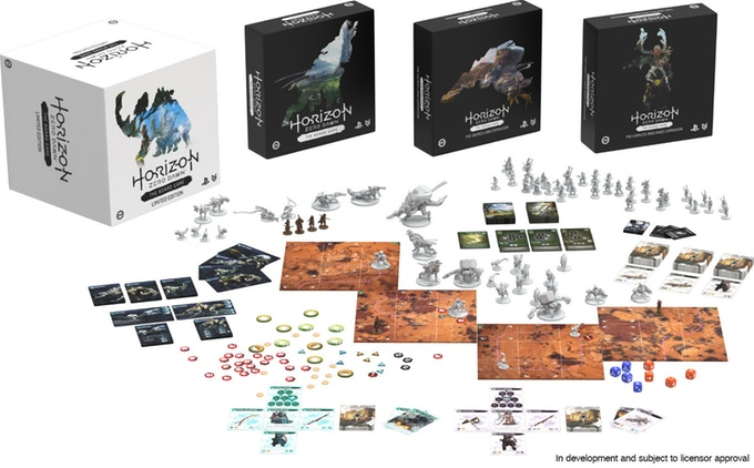 Horizon Zero Dawn the Board Game gra planszowa z kickstartera