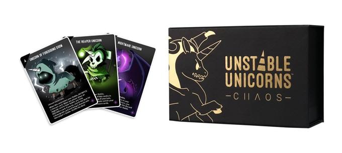 Unstable Unicorns gra karciana z kickstartera