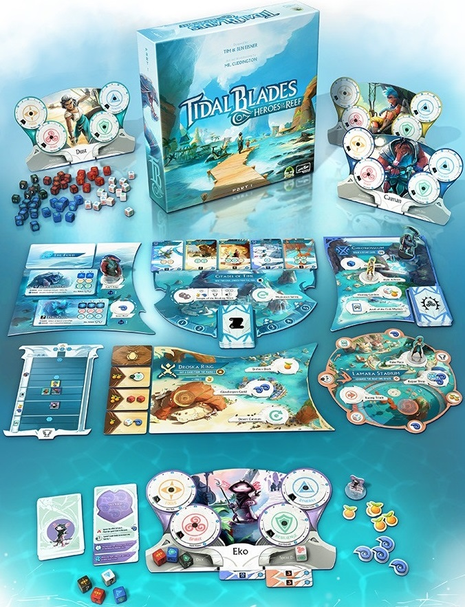tidal blades gra planszowa kickstarter 2