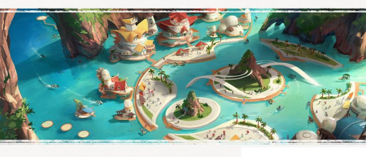 tidal blades gra planszowa kickstarter 1