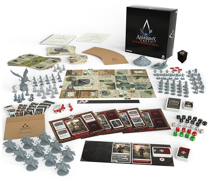 Assassin's Creed - Brotherhood of Venice planszówka kickstarter 2