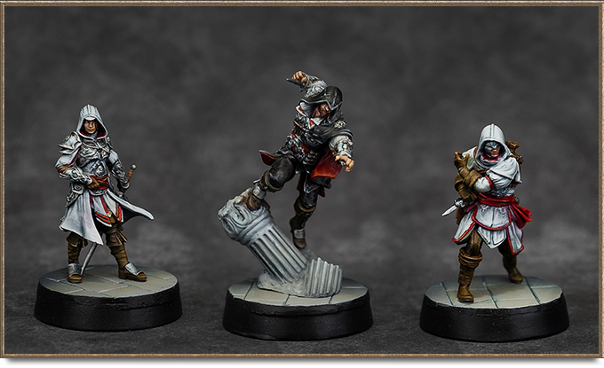 Assassin's Creed - Brotherhood of Venice planszówka kickstarter 4