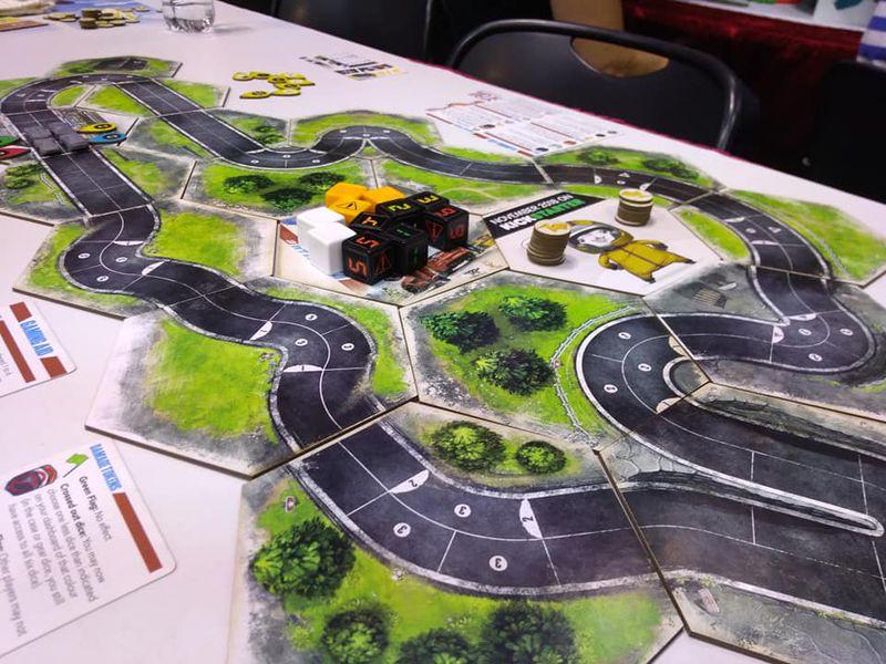rallyman gt gra planszowa kickstarter 5
