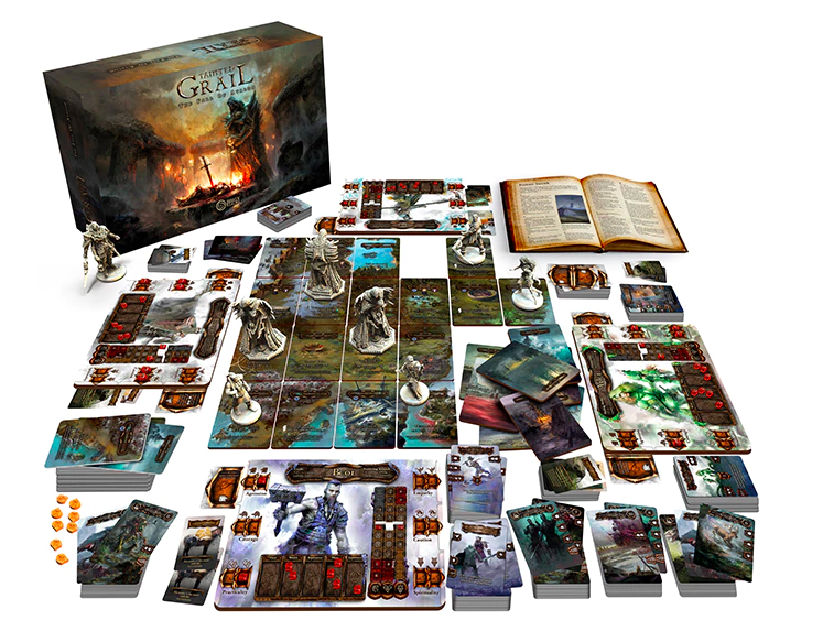 aTainted Grail: The Fall of Avalon gra planszowa kickstarter awaken realms 2