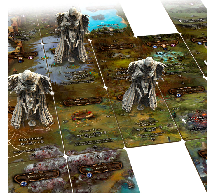 aTainted Grail: The Fall of Avalon gra planszowa kickstarter awaken realms 4