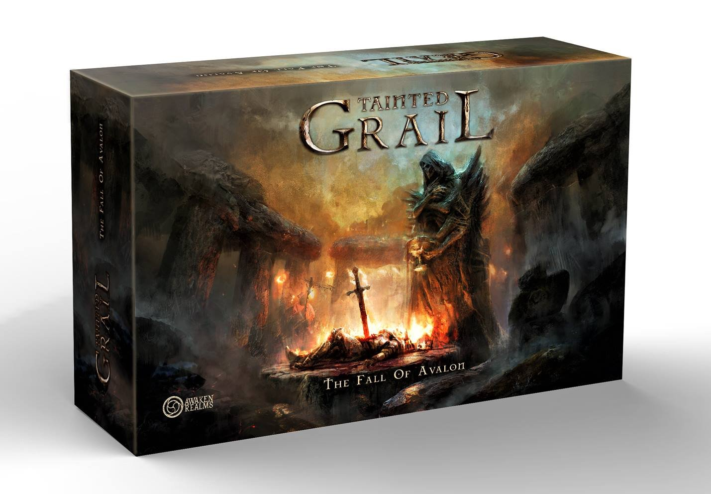 aTainted Grail: The Fall of Avalon gra planszowa kickstarter awaken realms 5